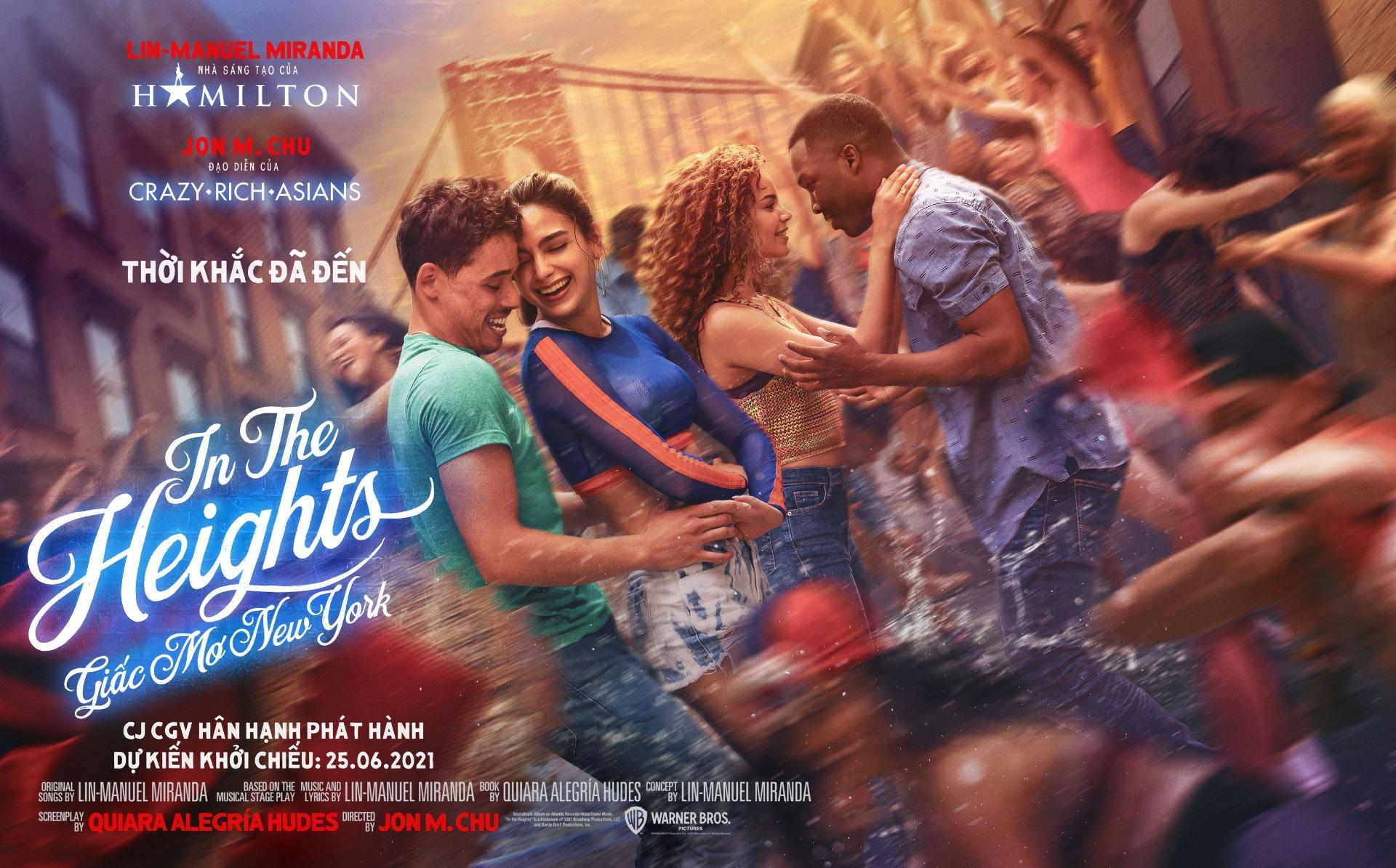 >Opral Winfrey, Hugh Jackman, The Rock, Ariana Grande ... phát cuồng với IN THE HEIGHTS: GIẤC MƠ NEW YORK